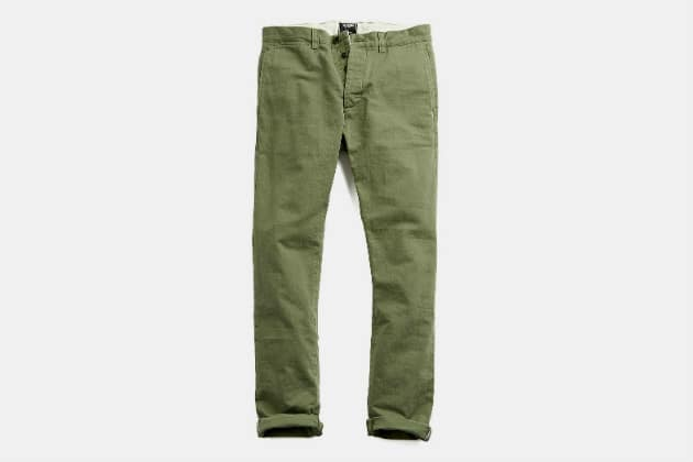 Todd Snyder Japanese Selvedge Chino Officer Pant