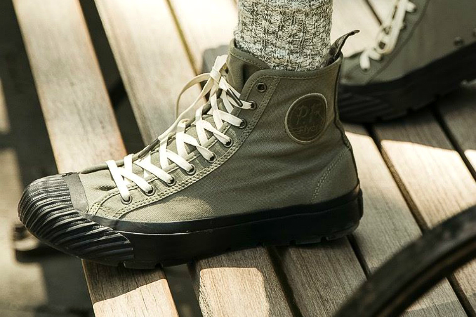 Todd Snyder x P.F. Flyers Grounder Hi-Top