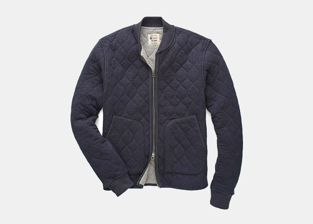 Todd Snyder Quilted Bomber Jacket