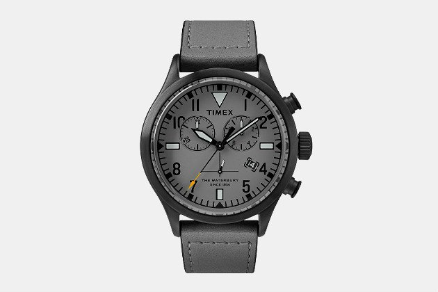 Timex + Todd Snyder Red Wing Leather Chronograph