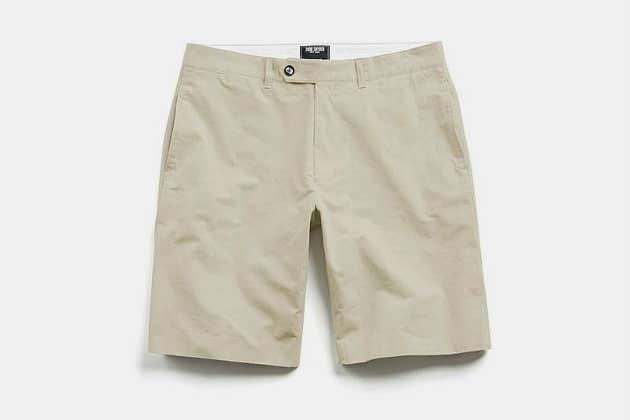 Todd Snyder Hudson Tab-Front Chino Shorts