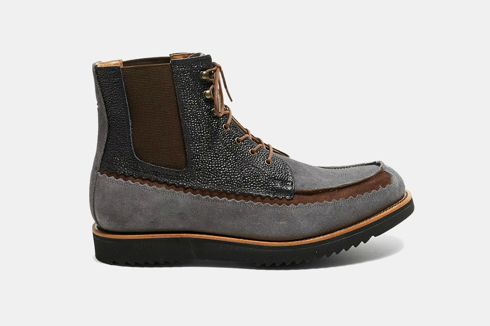Todd Snyder Suede Boots