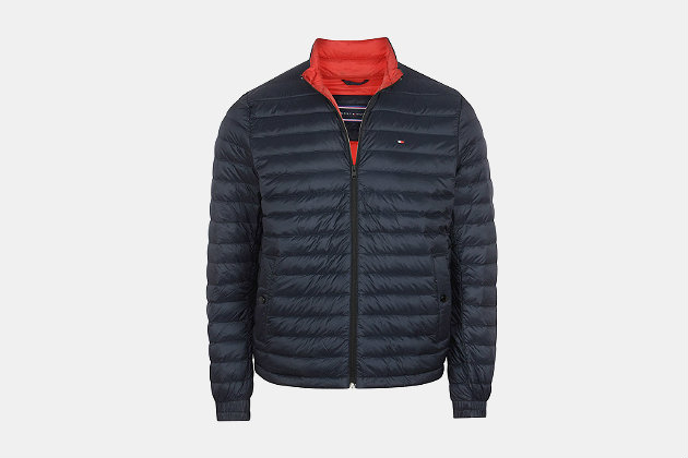 Tommy Hilfiger Packable Down Bomber Jacket