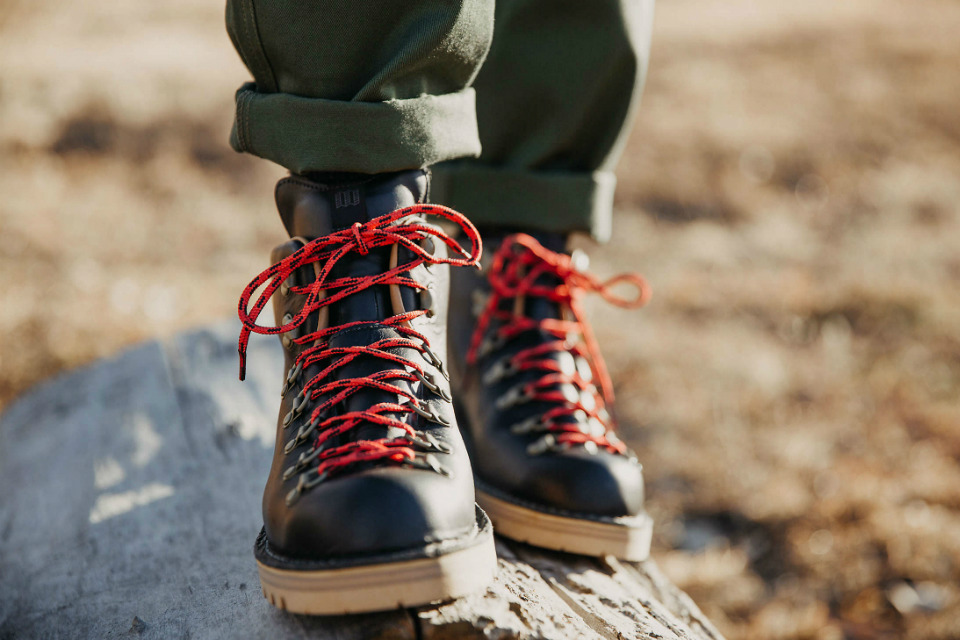 Topo Designs x Danner Mountain Light Boots