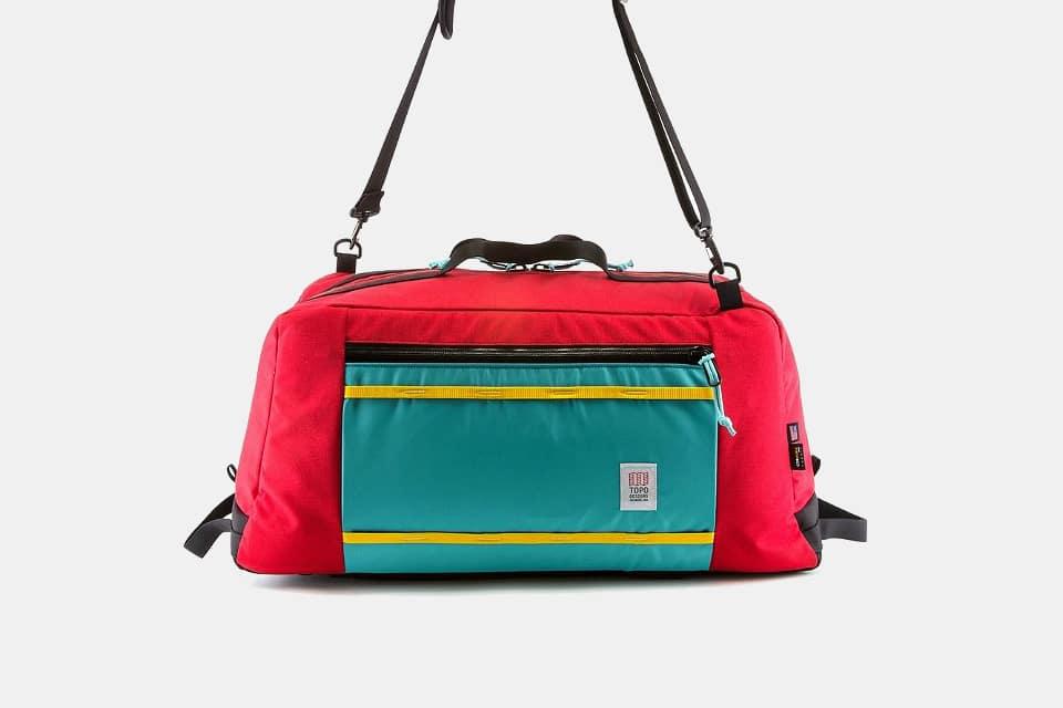 Topo Designs Mountain Duffel Red
