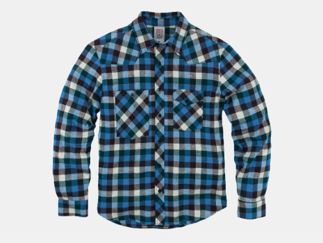 Topo Designs Plaid Flannel Work Shirt
