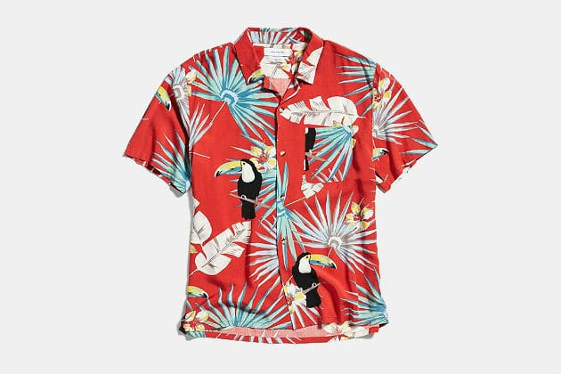 Toucan Button Down Shirt
