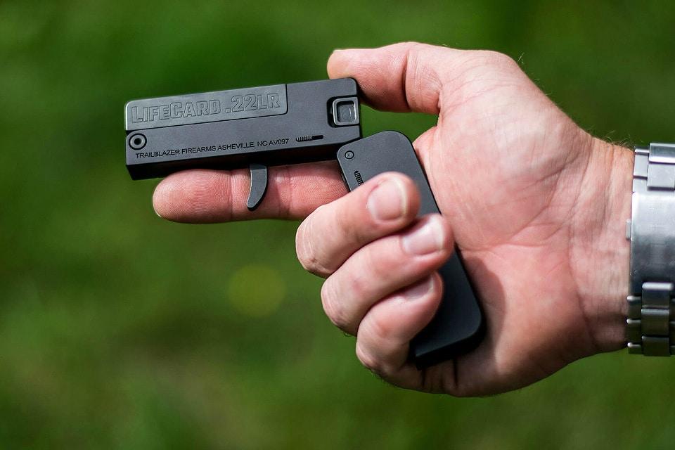 Review of Trailblazer Firearms LifeCard .22LR
