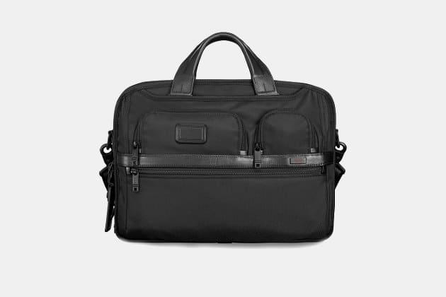 Tumi Alpha-2 T-Pass Laptop Briefcase