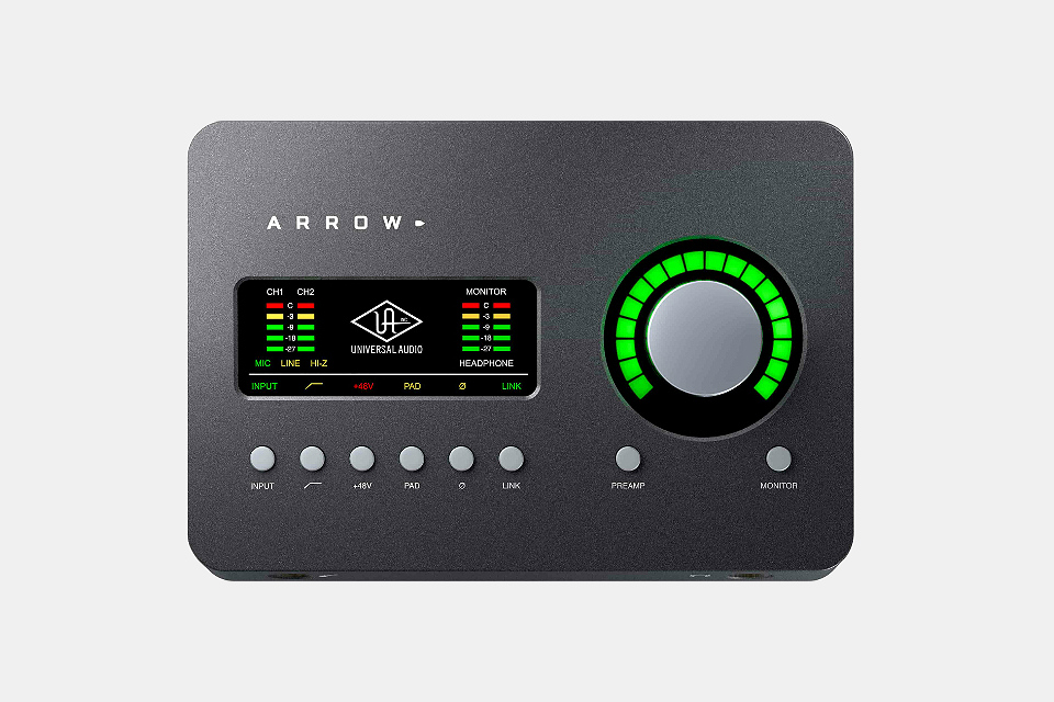 Arrow Desktop Audio Recording Interface