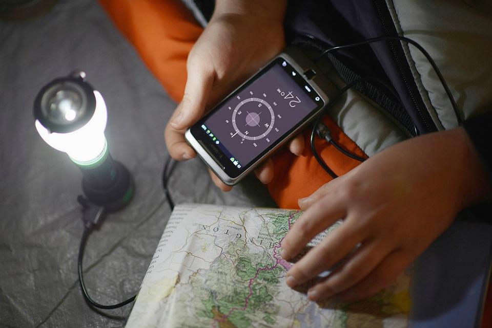 UCO Tetra LED Lantern + Flashlight + USB Charger