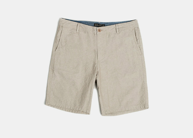 United By Blue Selby Chambray Shorts