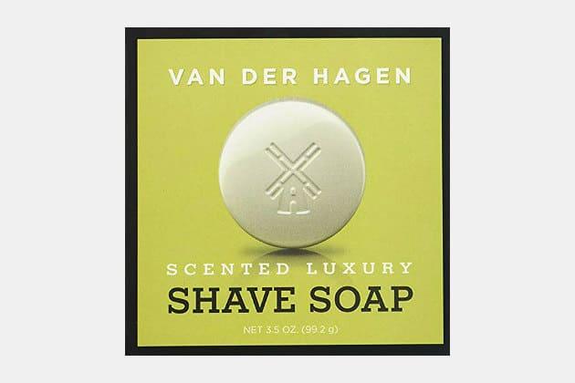 Va Der Hagen Scented Luxury Shave Soap