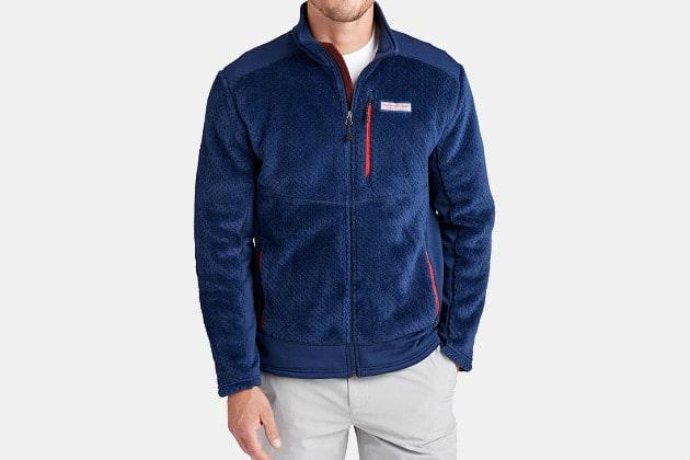 Vineyard Vines Performance High Pile Fleece Jacket