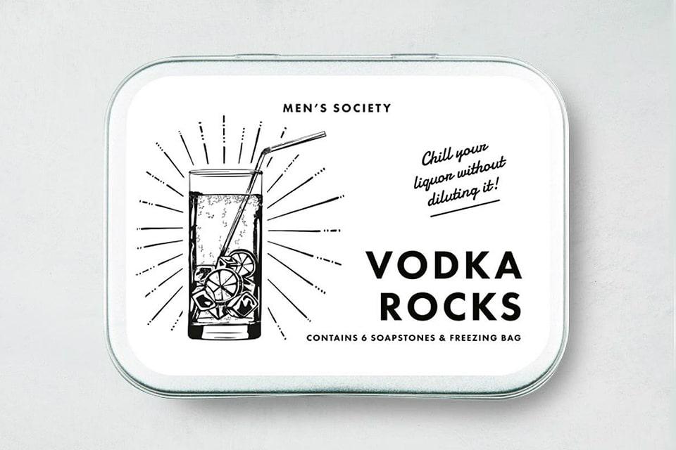 Men's Society Vodka Rocks