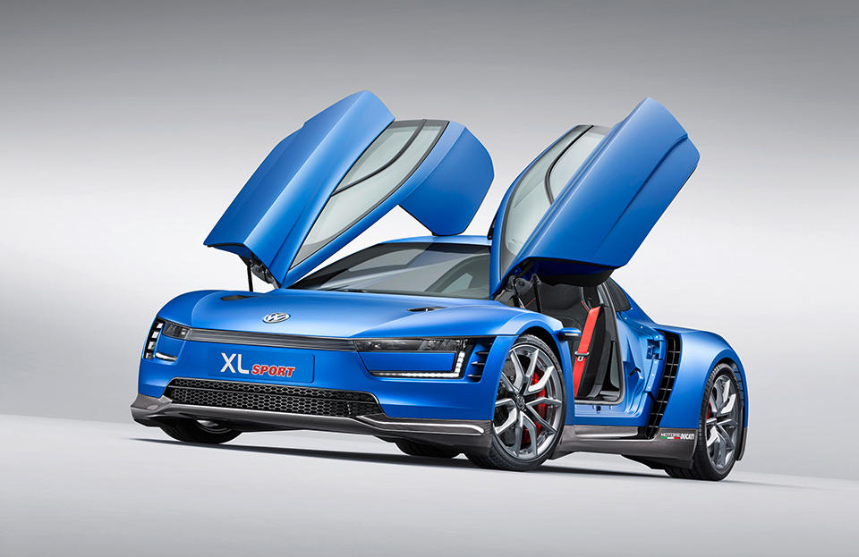 Volkswagen XL Sport Concept Car