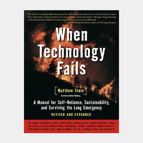 When Technology Fails Survival Book