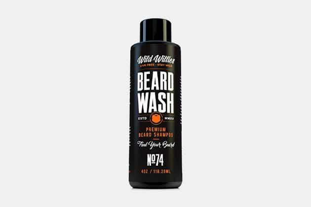 Wild Willie's Beard Wash Shampoo