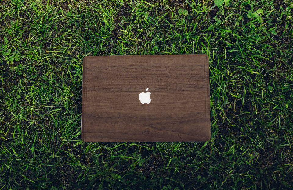 Wooden Macbook Covers