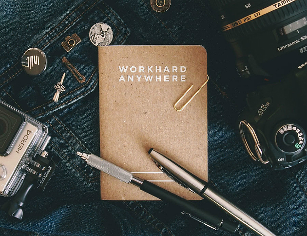 Work Hard Anywhere Pocket Notebook
