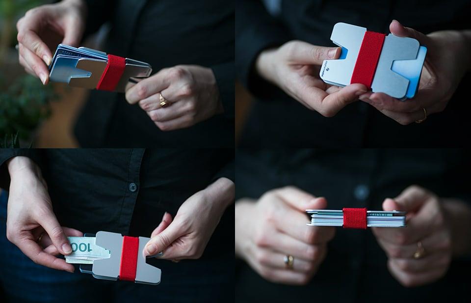 X Slim Minimalist Wallet