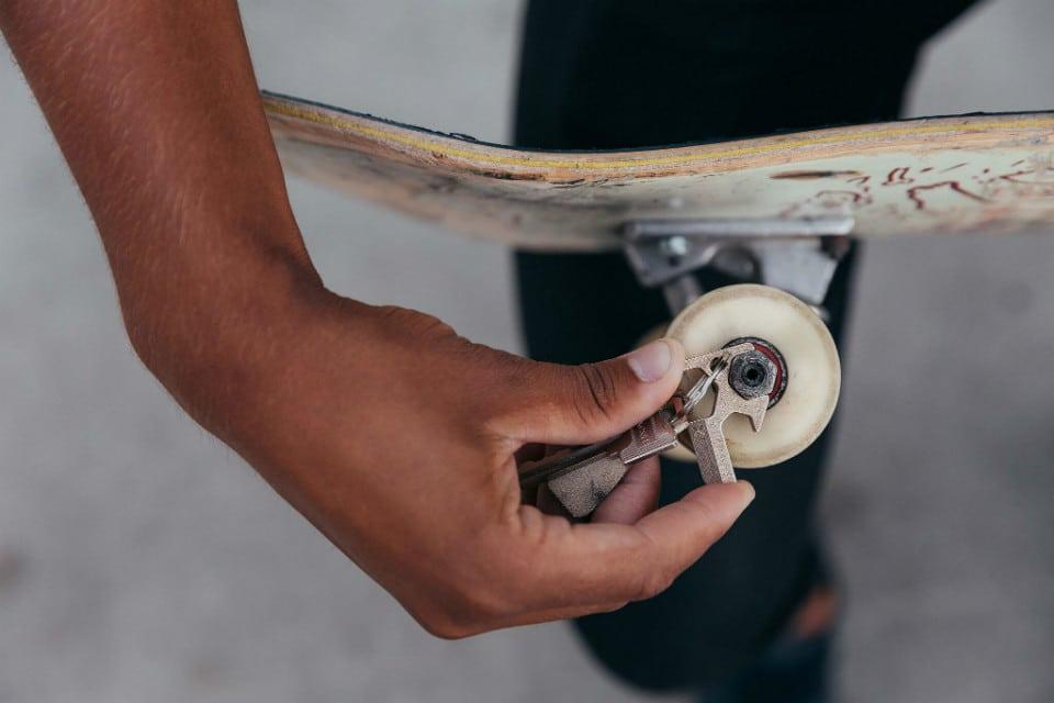 X-Ti Titanium EDC Skateboard Tool