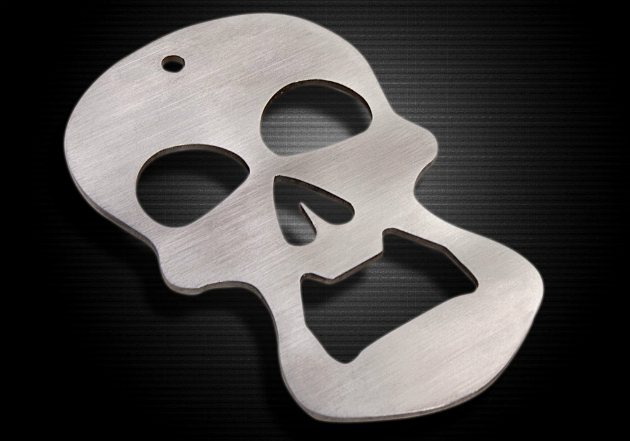 Cool Gear-Crranky. Skull Bottle Opener