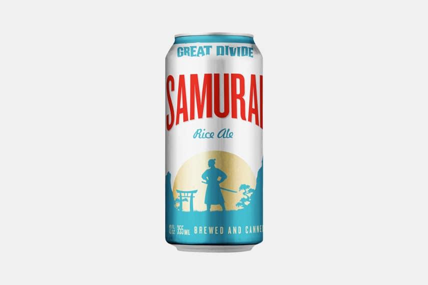 Great Divide Samurai Rice Ale