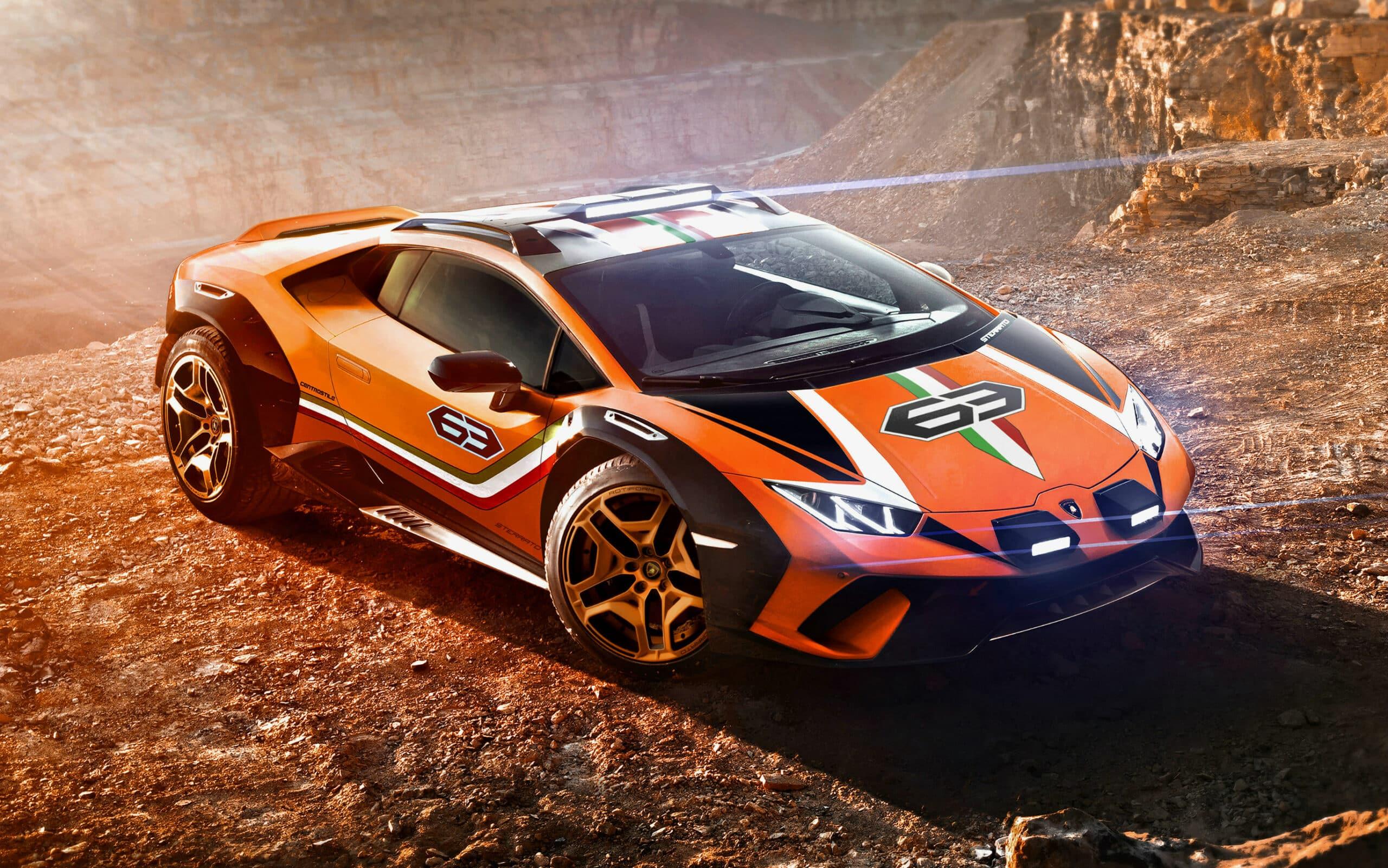 Lamborghini Huracán Sterrato 4x4 Concept