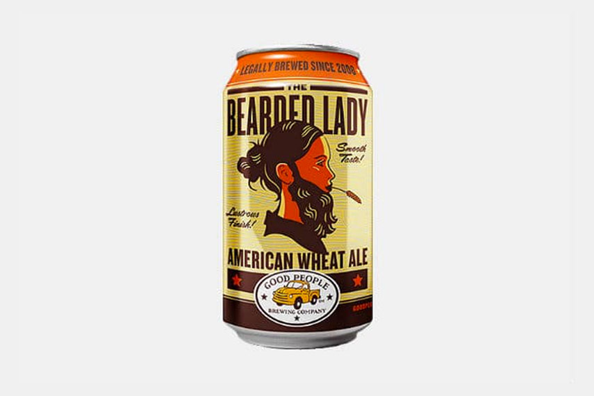 The Bearded Lady American Wheat Ale
