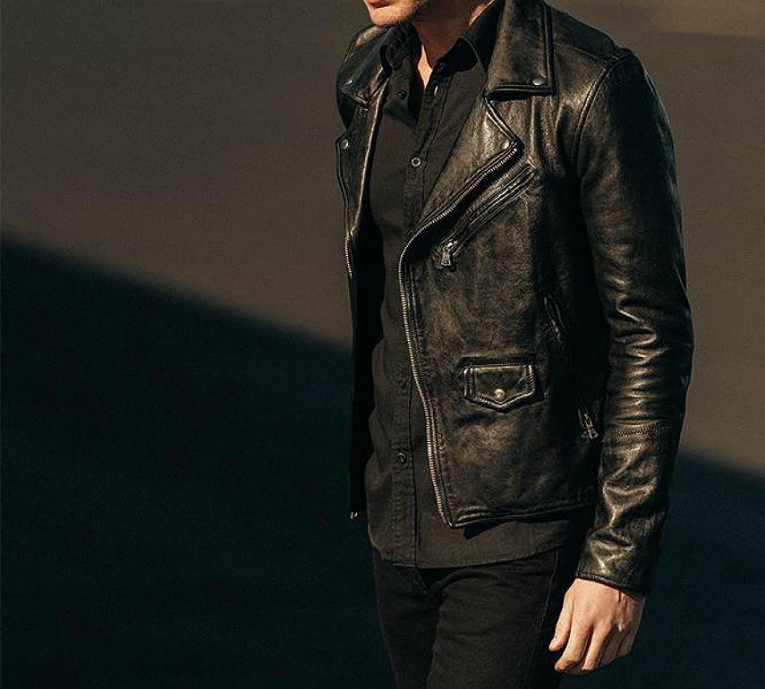Buck Mason Fast Times Leather Jacket