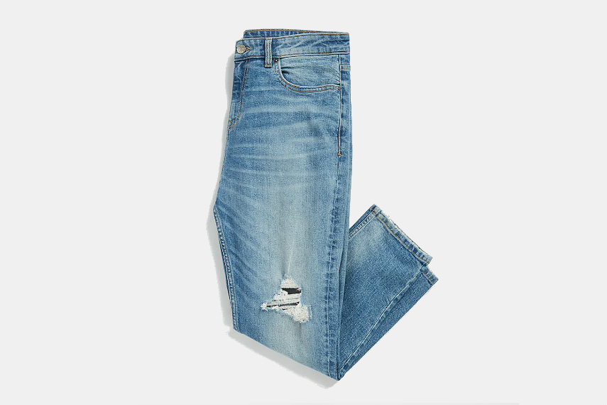 Frank and Oak Iggy Tapered Fit Jeans
