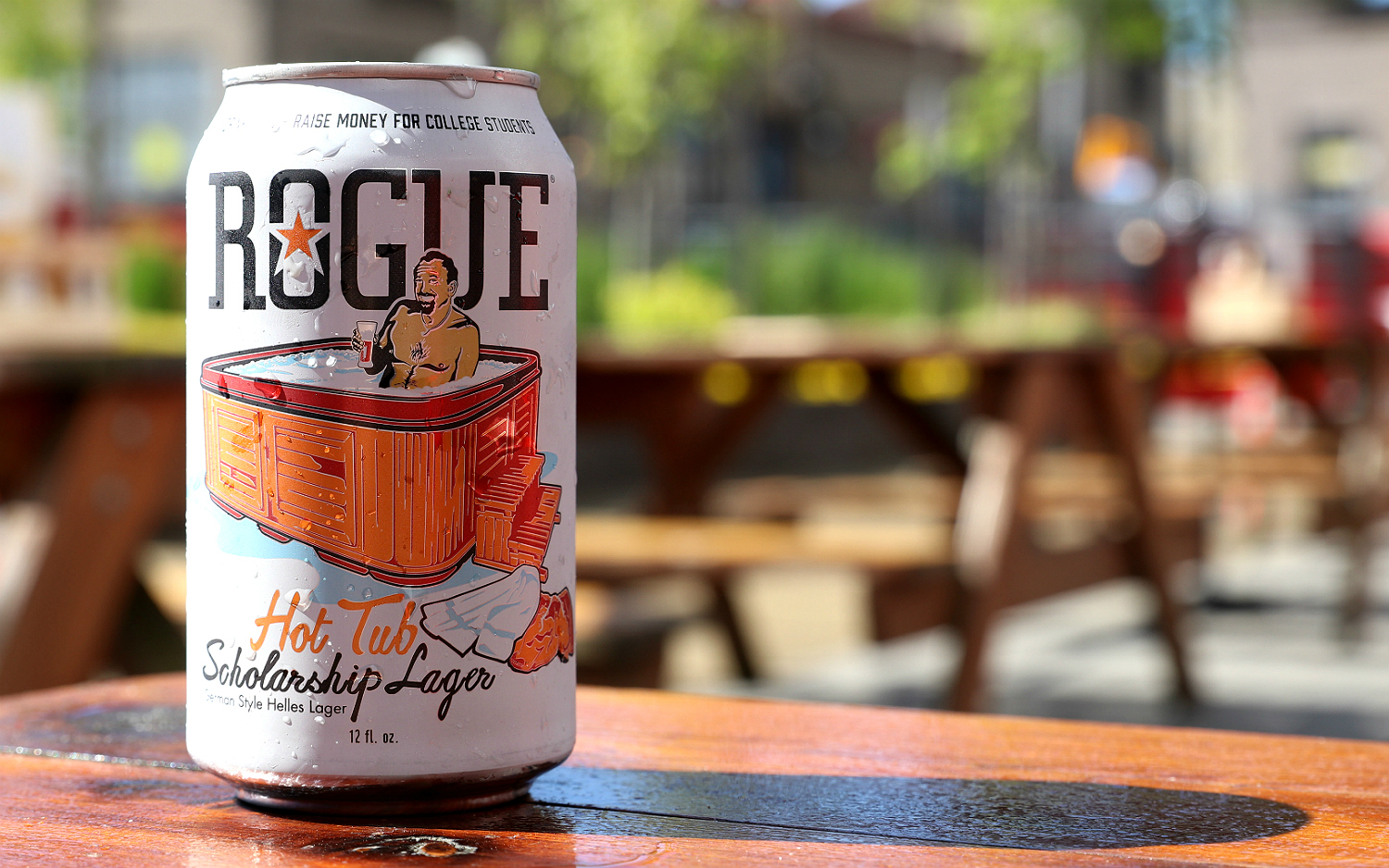 Rogue Hot Tub Scholarship Lager