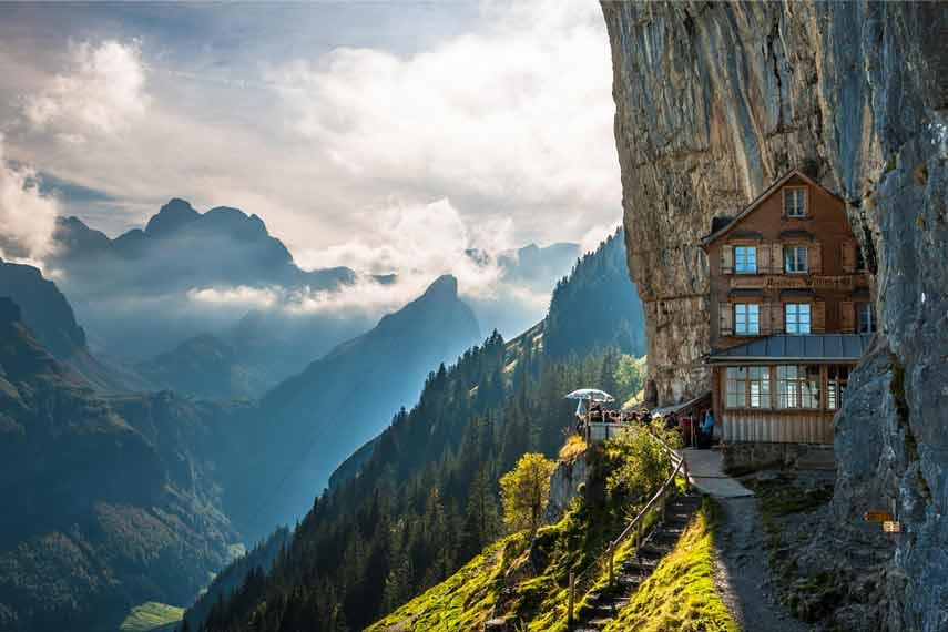 Aescher Cliff Hotel
