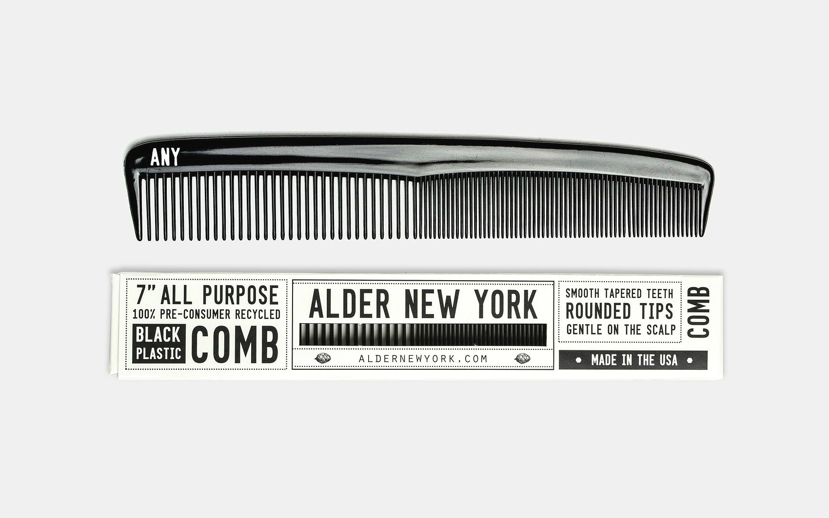 Alder New York All Purpose Comb
