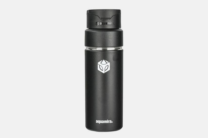 Aquamira Shift Vacuum Water Filter Bottle