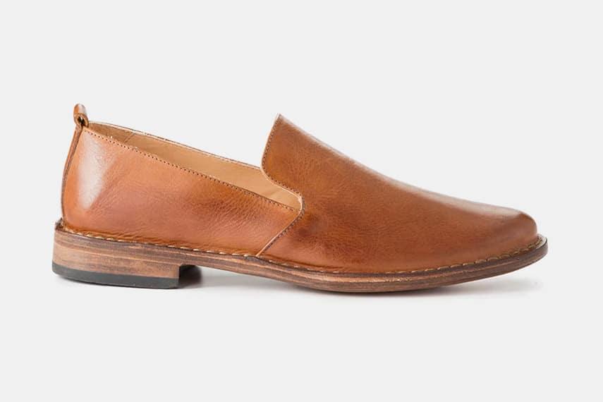 Astorflex Patnoflex Leather Slip On Shoes