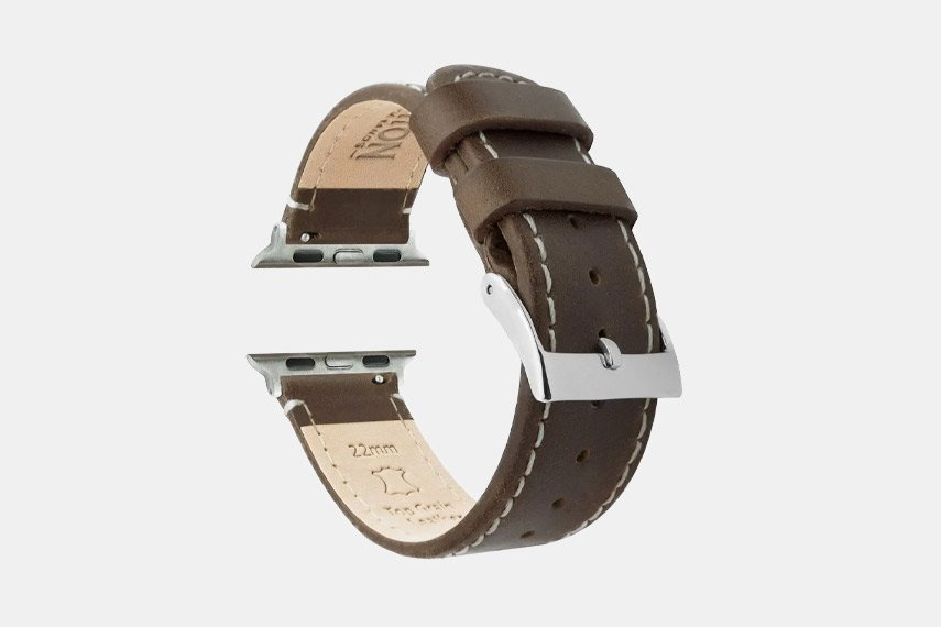 Barton Saddle Leather Apple Watch Band