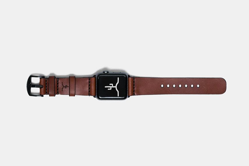 Bexar Goods Leather Apple Watch Strap