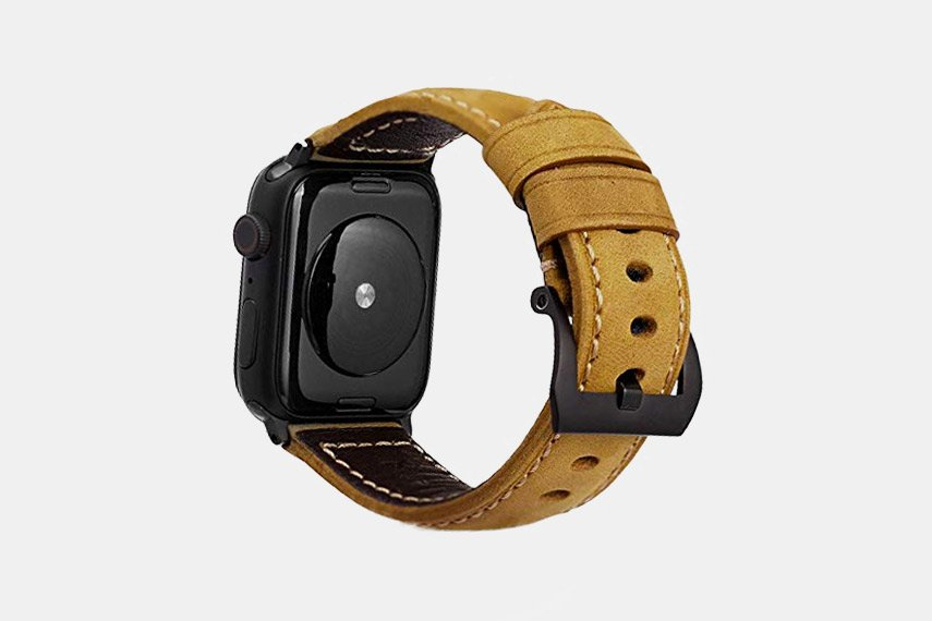 Bullstrap Classic Leather Apple Watch Strap