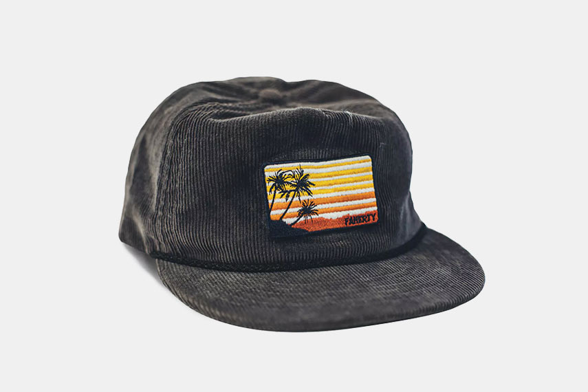 Faherty Brand Sunset Patch Cord Hat