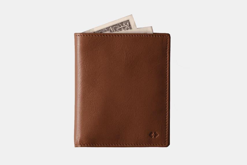 Harber London Leather Bifold Wallet
