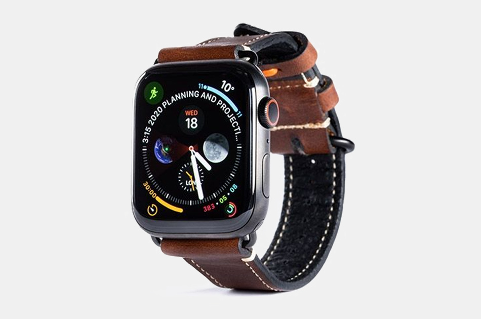 Pad & Quill Lowry Edition Apple Watch Leather Bands