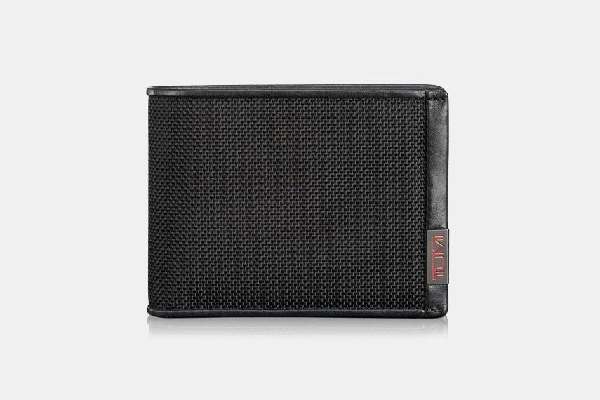 TUMI ID Lock Double Billfold Wallet