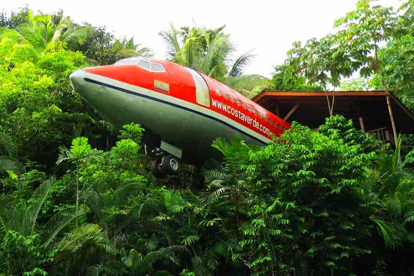 The 727 Fuselage Home
