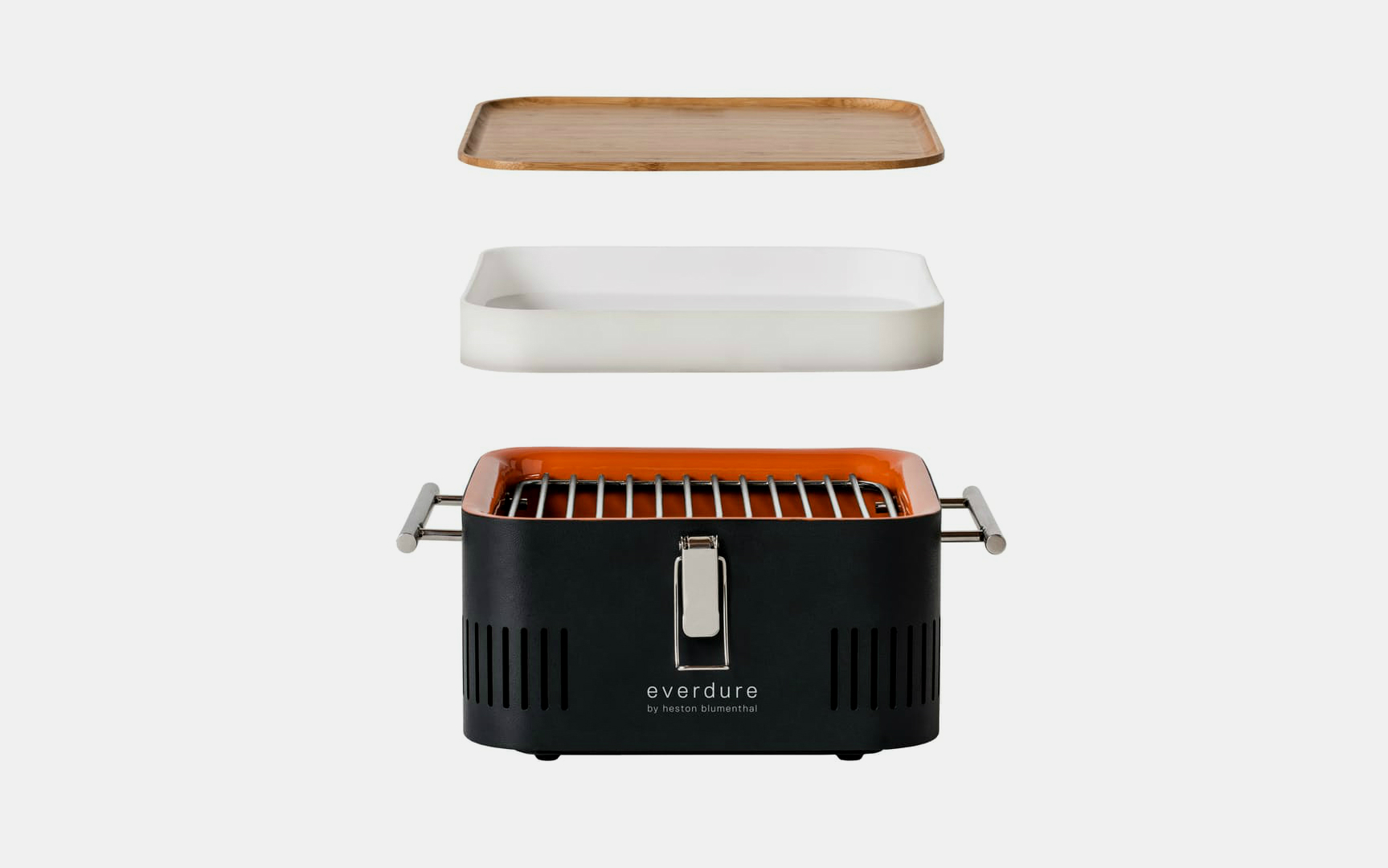 The Cube Portable Charcoal Barbecue