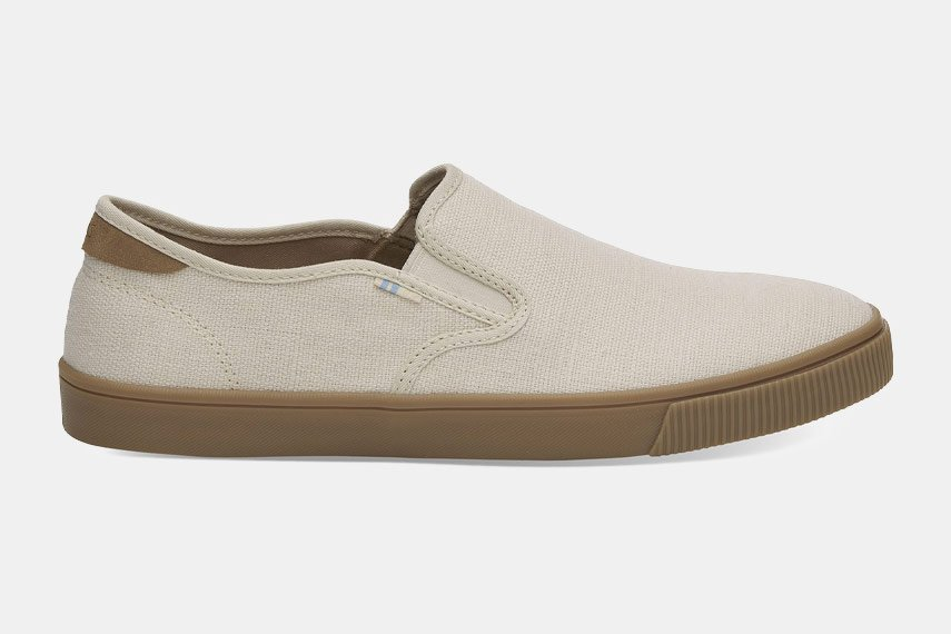 Toms Heritage Canvas Mens Baja Slip-On Shoes