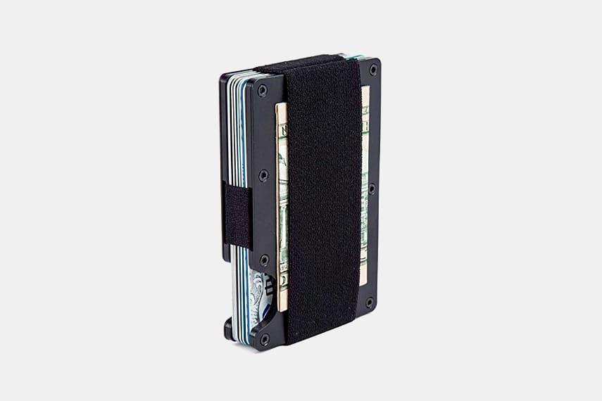 Aluminum Money Clip Wallet