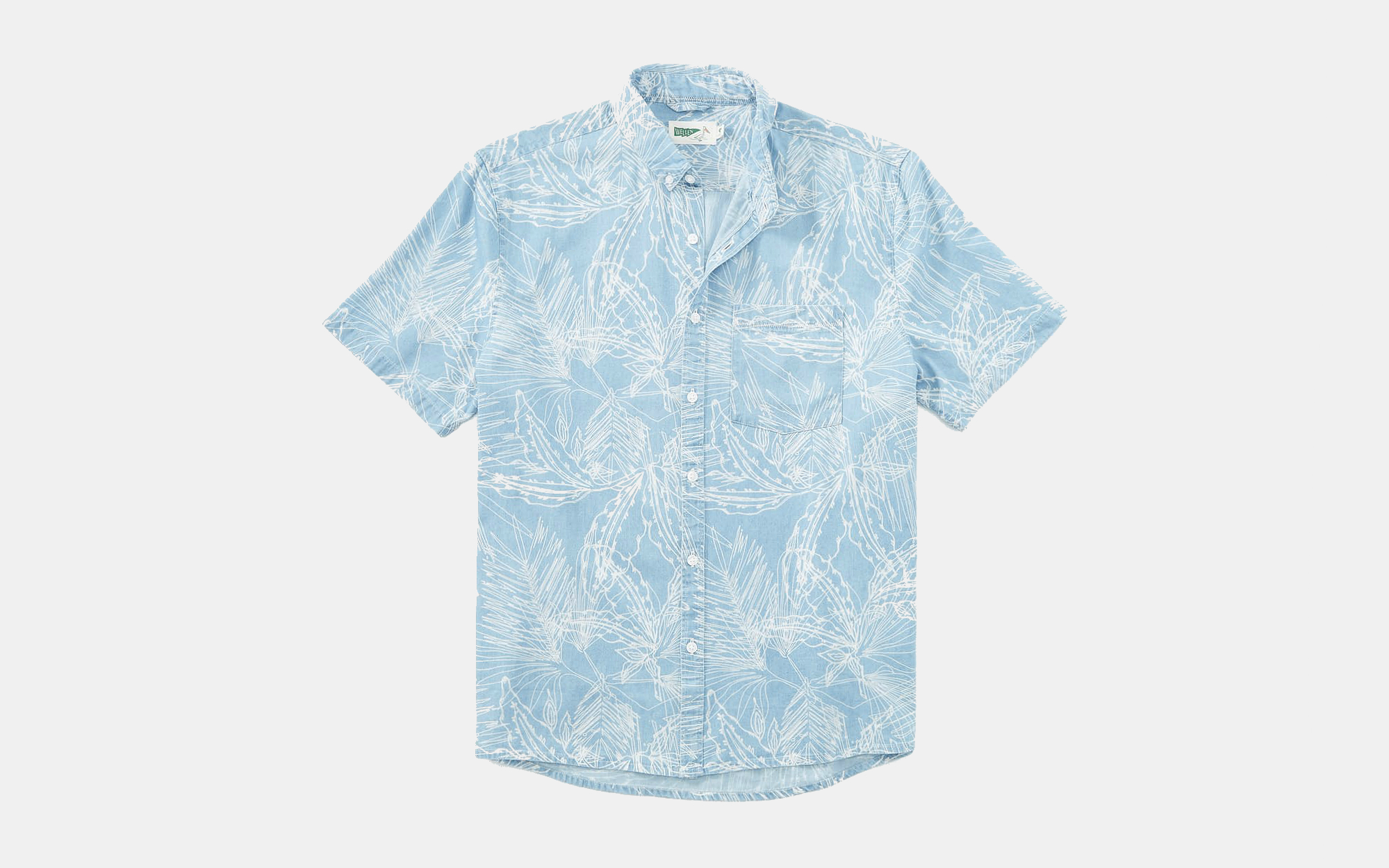 Wellen Printed Short Sleeve Shirt