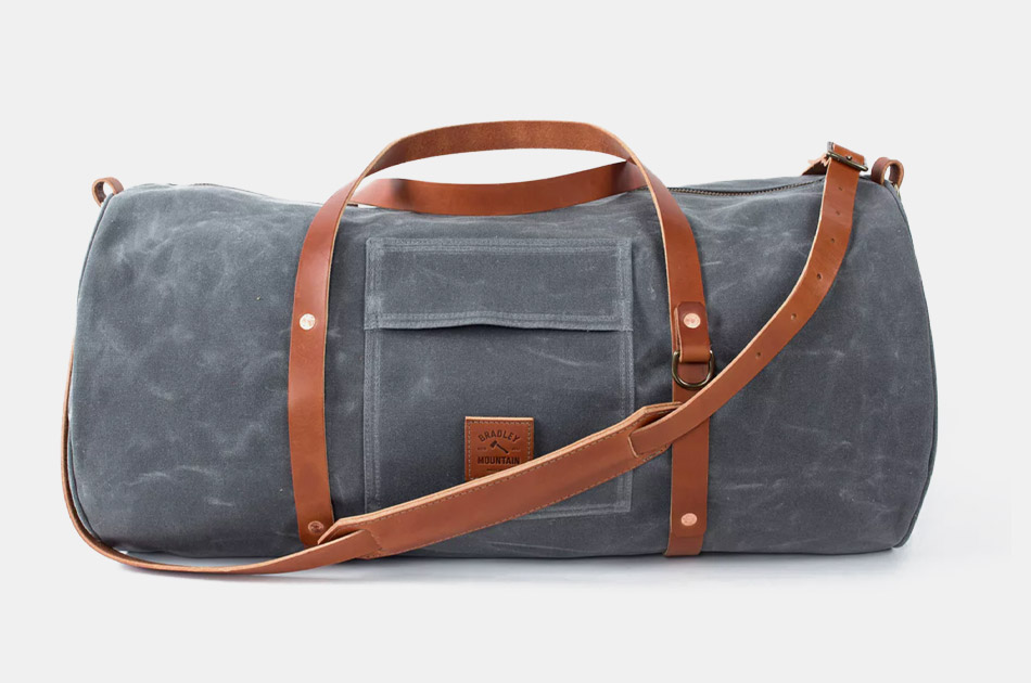 Bradley Mountain The Rambler - Waxed Canvas Weekend Bag